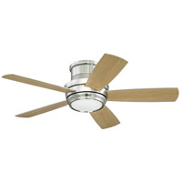 Craftmade TMPH44BNK5 Tempo 44 inch Brushed Polished Nickel with Reversible Silver and Maple Blades Hugger Ceiling Fan alternative photo thumbnail