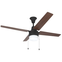 Wakefield 48 inch Aged Bronze Brushed Ceiling Fan with Blades Included