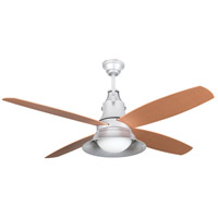 Union 52 inch Galvanized Steel with Light Oak Blades Ceiling Fan, Blades Included