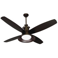 Union Oiled Bronze Set of 4 Fan Blades