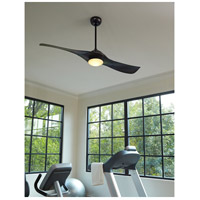 Craftmade VG54FB2 Vogue 54 inch Flat Black Ceiling Fan alternative photo thumbnail