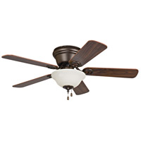 Craftmade WC42ORB5C1 Wyman 42 inch Oiled Rubbed Bronze with Reversible Classic Walnut and Walnut Blades Ceiling Fan in Oil Rubbed Bronze alternative photo thumbnail