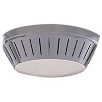 Windswept LED Brushed Polished Nickel Fan Light Kit