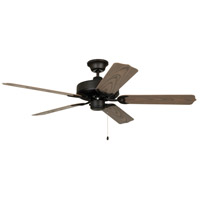 All Weather 52 inch Aged Bronze with Weathered Oak ABS Blades Outdoor Ceiling Fan in Light Kit Sold Separately
