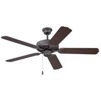 Ellington by Craftmade All-Weather Outdoor Ceiling Fan with Blades Included in Espresso WOD52ESP5X