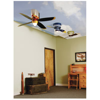 Craftmade WB242BS2 Warplanes 42 inch WarPlanes Black Sheep with War Plane Blades Ceiling Fan alternative photo thumbnail