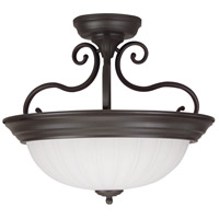 Jeremiah by Craftmade Signature 2 Light Semi-Flush in Oiled Bronze X124-OB