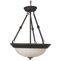 Craftmade X125-OB Signature 3 Light 15 inch Oiled Bronze Inverted Pendant Ceiling Light