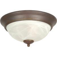 Craftmade X211-AG Signature 2 Light 11 inch Aged Bronze Flush Mount Ceiling Light