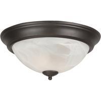 Craftmade X213-OB Jeremiah 2 Light 13 inch Oiled Bronze Flushmount Ceiling Light