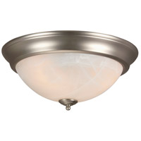 Craftmade X215-BN Signature 3 Light 15 inch Brushed Satin Nickel Flushmount Ceiling Light in Brushed Nickel