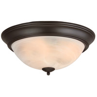 Craftmade X215-OB Signature 3 Light 15 inch Oiled Bronze Flushmount Ceiling Light