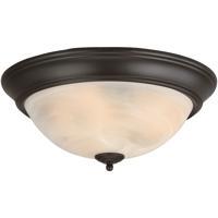 Craftmade X215-OB Signature 3 Light 15 inch Oiled Bronze Flushmount Ceiling Light