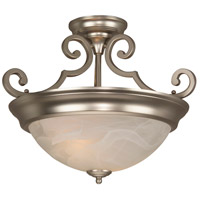 Jeremiah by Craftmade Signature 3 Light Semi-Flush in Brushed Nickel X224-BN-NRG
