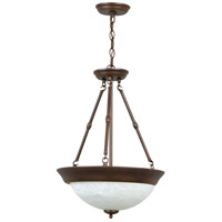 Craftmade X225-AG Signature 3 Light 15 inch Aged Bronze Inverted Pendant Ceiling Light in Aged Bronze Textured