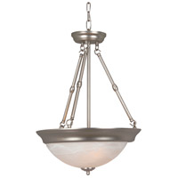Craftmade X225-BN Signature 3 Light 15 inch Brushed Satin Nickel Inverted Pendant Ceiling Light in Brushed Nickel