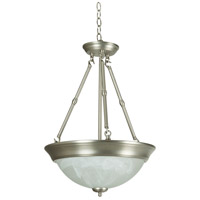 Craftmade X225-BN X21 Series 3 Light 15 inch Brushed Satin Nickel Inverted Pendant Ceiling Light