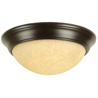 Craftmade X4915-OB Signature 3 Light 15 inch Oiled Bronze Flush Mount Ceiling Light