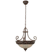 Jeremiah by Craftmade Barcelona 3 Light Pendant in Aged Bronze X5916-AG