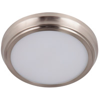 Craftmade X6509-BNK-LED X65 Series LED 9 inch Brushed Polished Nickel Flushmount Ceiling Light