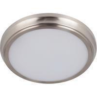 Craftmade X6511-BNK-LED X65 Series LED 11 inch Brushed Polished Nickel Flushmount Ceiling Light