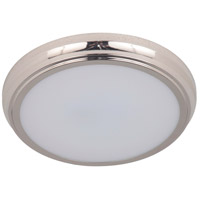 Craftmade X6513-PLN-LED X65 Series LED 13 inch Polished Nickel Flushmount Ceiling Light