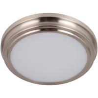 Craftmade X6609-BNK-LED X66 Series LED 9 inch Brushed Polished Nickel Flushmount Ceiling Light