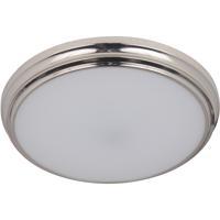 Craftmade X6611-BNK-LED X66 Series LED 11 inch Brushed Polished Nickel Flushmount Ceiling Light
