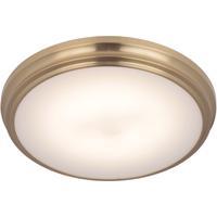 Craftmade X6611-SB-LED X66 Series LED 11 inch Satin Brass Flushmount Ceiling Light