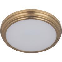 Craftmade X6613-SB-LED Neighborhood X66 Series LED 13 inch Satin Brass Flushmount Ceiling Light