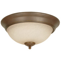 Craftmade X713-AG Signature 2 Light 13 inch Aged Bronze Textured Flushmount Ceiling Light
