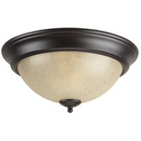 Jeremiah by Craftmade Signature 3 Light Flushmount in Oiled Bronze X715-OB