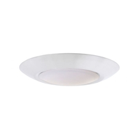 Craftmade X9006-W-LED Craftmade LED 6 inch White LED Flushmount Ceiling Light