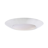 Craftmade X9007-W-LED Craftmade LED 7 inch White LED Flushmount Ceiling Light