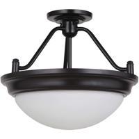 Craftmade XPPS15OB-2W Pro Builder Premium 2 Light 15 inch Oiled Bronze Semi-Flushmount Ceiling Light Convertible