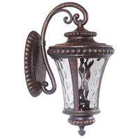 Exteriors by Craftmade Prescott II 2 Light Outdoor Wall Mount in Peruvian Bronze Z1264-112