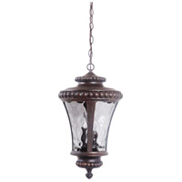 Craftmade Z1271-PRO Prescott Ii 3 Light 12 inch Peruvian Bronze Outdoor Pendant, Large