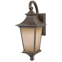 Craftmade Z1304-AG Argent 1 Light 16 inch Aged Bronze Textured Outdoor Wall Lantern, Small