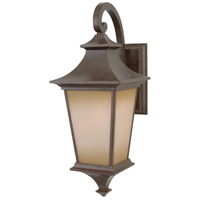 Craftmade Z1314-AG Argent 1 Light 21 inch Aged Bronze Textured Outdoor Wall Lantern, Medium