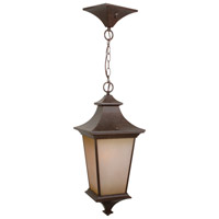 Bronze Glass Outdoor Pendants