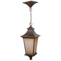 Craftmade Z1321-AG Argent 1 Light 10 inch Aged Bronze Textured Outdoor Pendant, Large