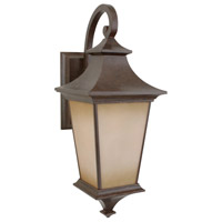 Exteriors by Craftmade Argent 1 Light Outdoor Wall Mount in Aged Bronze Z1324-98