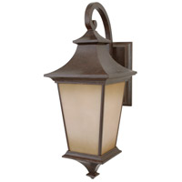 Craftmade Z1324-AG Argent 1 Light 26 inch Aged Bronze Textured Outdoor Wall Lantern, Large