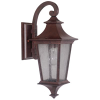 Craftmade Z1354-AG Argent Ii 1 Light 16 inch Aged Bronze Textured Outdoor Wall Lantern in Incandescent, Small