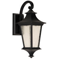 Craftmade Z1354-MN-LED Argent Ii LED 16 inch Midnight Outdoor Wall Lantern, Small
