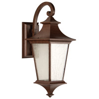 Argent II LED 21 inch Aged Bronze Textured Outdoor Wall Lantern, Medium
