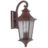Craftmade Z1364-AG Argent Ii 2 Light 21 inch Aged Bronze Textured Outdoor Wall Lantern in Incandescent, Medium