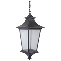 Exteriors by Craftmade Argent II 3 Light Outdoor Pendant in Midnight Z1371-11