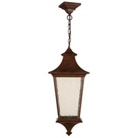 Craftmade Z1371-AG-LED Argent Ii LED 10 inch Aged Bronze Textured Outdoor Pendant, Large