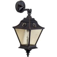 Craftmade Z1404-RT Chaparral 1 Light 20 inch Rust Outdoor Wall Lantern Medium